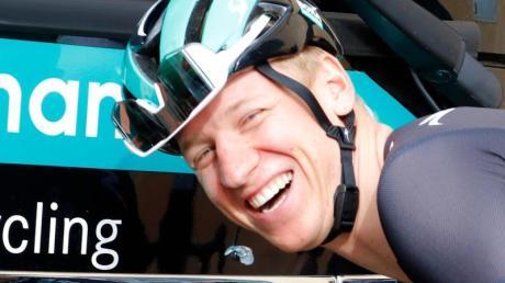 Startet dieses Jahr erstmals bei der Spanien-Rundfahrt: Pascal Ackermann.