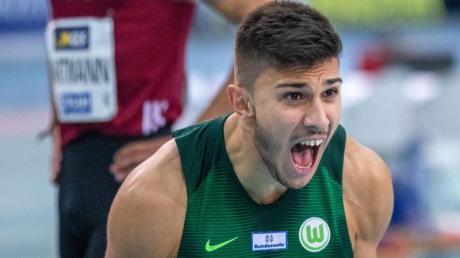 Überzeugte in Weinheim:Sprinter Deniz Almas.