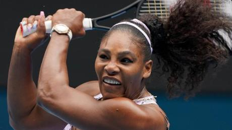 Will an den US Open teilnehen: Serena Williams in Aktion.