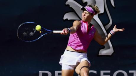 Laura Siegemund gewann ihr Auftaktmatch in Prag.