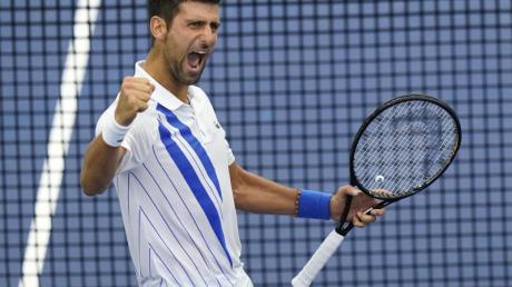 Sorgt nicht nur auf dem Tennis-Platz für Schlagzeilen: Novak Djokovic.