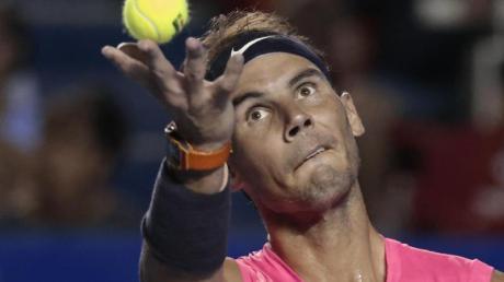 Will bei den French Open aufschlagen: Rafael Nadal.