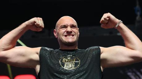 Möchte möglichst bald einen Kampf gegen Anthony Joshua bestreiten: Tyson Fury.