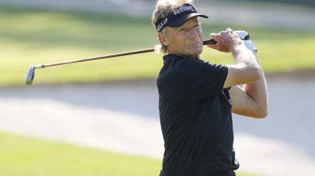 Macht auch mit 63 Jahren noch eine Topfigur auf dem Golfplatz: Bernhard Langer.