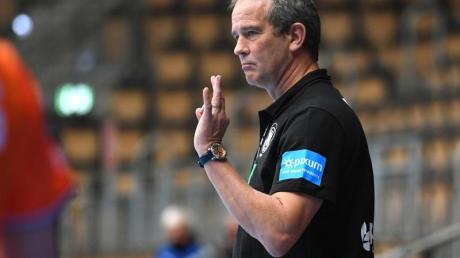 Henk Groener ist der Trainer der deutschen Handballerinnen.