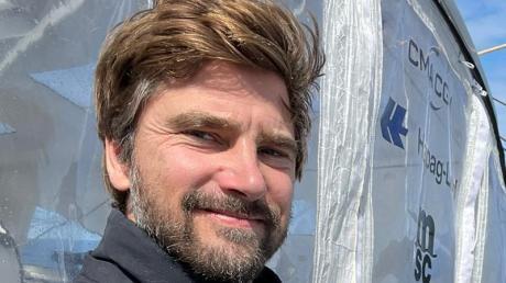 Hat bei der Vendée Globe die letzte Woche vor sich:Boris Herrmann.