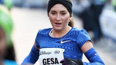 Gesa Krause lief beim Hallen-Meeting in Dortmund die 2000-Meter-Hindernis in 6:02,60 Minuten.