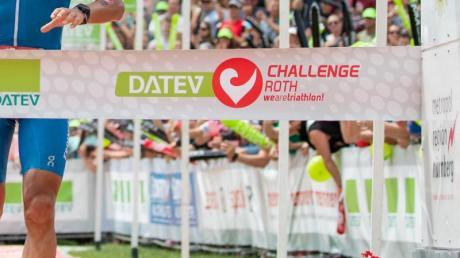 Der Triathlon in Roth wurde um zwei Monate verschoben.