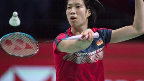 Yvonne Li verlor ihr Einzel gegen die Dänin Mia Blichfeldt.