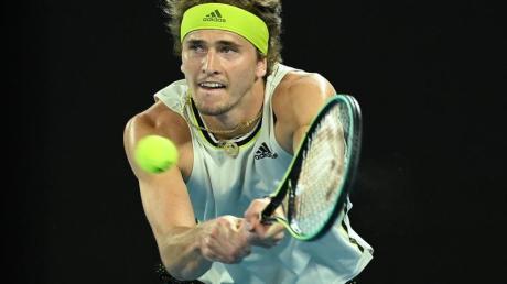 Alexander Zverev ist bei den Australian Open im Viertelfinale an Novak Djokovic gescheitert.