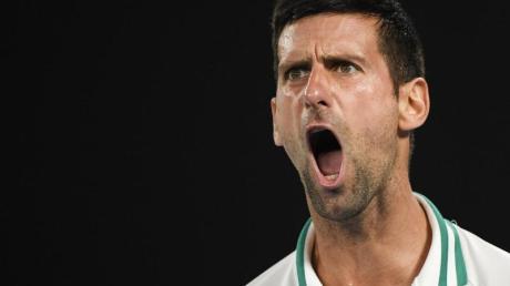 Novak Djokovic erreichte locker das Endspiel der Australian Open.