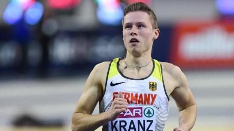 Kevin Kranz hat als Hallen-Meister über 60 Meter den deutschen Rekord eingestellt.