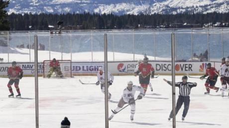 Die NHL machte am Lake Tahoe Station.