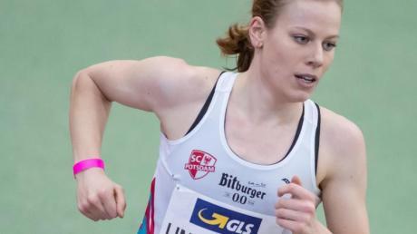 Wurde Zweite über 3000 Meter: Triathletin Laura Lindemann.