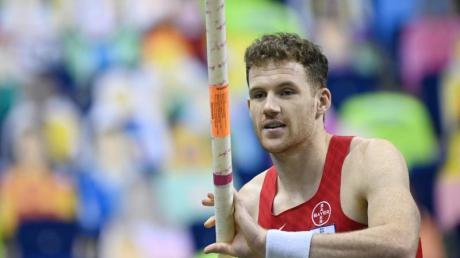 Torben Blech hat sich mit 5,72 Meter seinen ersten deutschen Meistertitel gesichert.