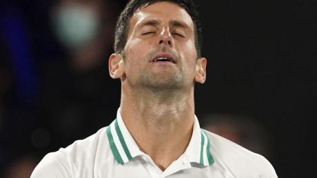 Hat sich von einer Bauchmuskelverletzung im Finale nicht aufhalten lassen: Novak Djokovic.