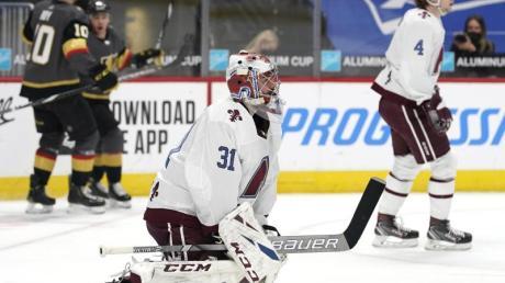 Eishockey-Nationaltorwart Philipp Grubauer verlor mit den Colorado Avalanche.