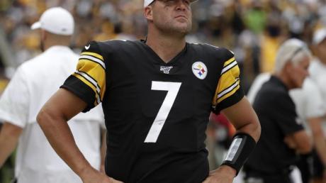 Geht in seine 18. Saison bei den Steelers: Quarterback Ben Roethlisberger.