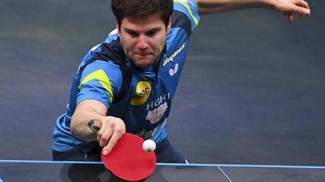 Wandelte einen 0:2-Satzrückstand in Katar noch in einen Sieg um:Dimitrij Ovtcharov.