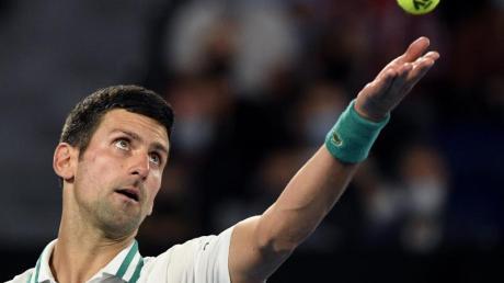 Der Serbe Novak Djokovic sagte für das Turnier in Miami ab.