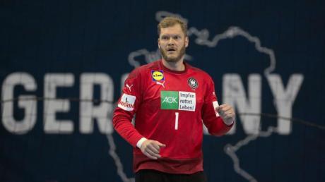 Torhüter Johannes Bitter denkt noch nicht ans Karriereende in der Handball-Nationalmannschaft.