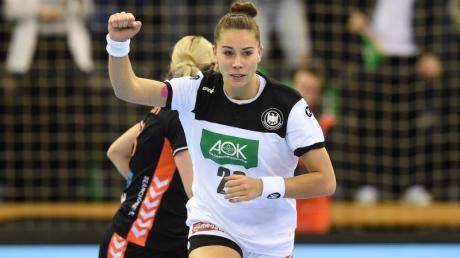 Emily Bölk, Kapitänin der deutschen Handball-Frauen.