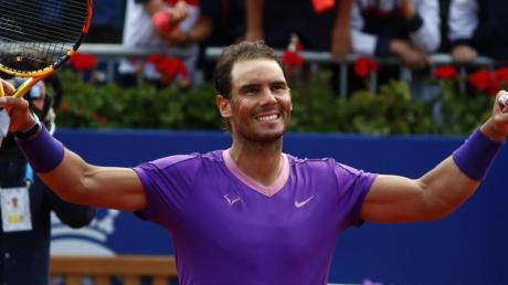 Steht zum zwölften Mal im Finale in Barcelona: Rafael Nadal.