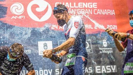 Siegte auf Gran Canaria: Jan Frodeno (M).
