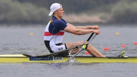 Zeigt sich beim Weltcup in Zagreb in guter Form: Oliver Zeidler in Aktion.