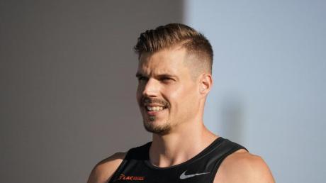 Sprinter Julian Reus hat mit der 4x100-Meter-Staffel Olympia im Blick.