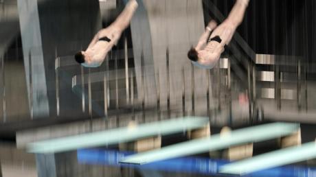 Patrick Hausding und Lars Rüdiger beim Wettkampf in Tokio.