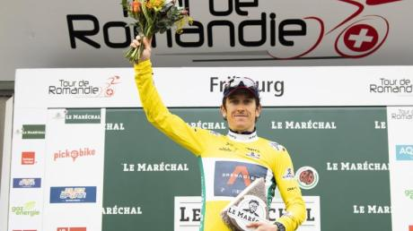 Geraint Thomas hat die Tour de Romandie gewonnen.
