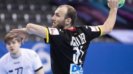 Mit sechs Treffern bester Werfer der DHB-Auswahl: Marcel Schiller.