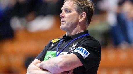 Handball-Bundestrainer Alfred Gislason hat die Qual der Wahl.