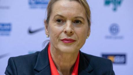 Annett Stein: «Ich erwarte sehr leistungsstarke Wettkämpfe.».