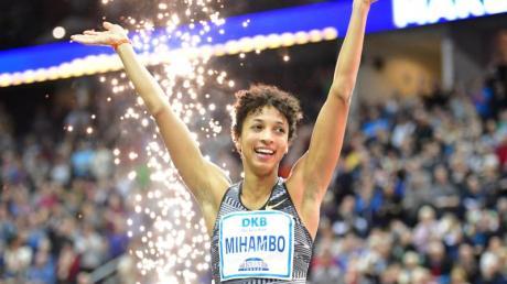 Auch im Sprint überragend: Weitspringerin Malaika Mihambo.
