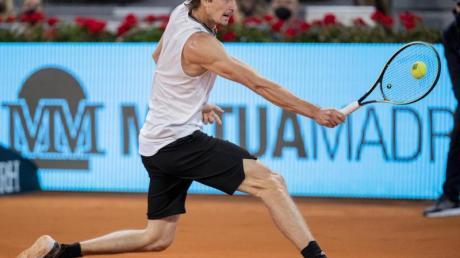 Alexander Zverev hatte am Wochenende das Masters-Turnier in Madrid gewonnen.