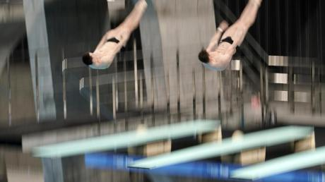 Patrick Hausding und Lars Rüdiger sind Europameister im Synchronspringen vom Drei-Meter-Brett.