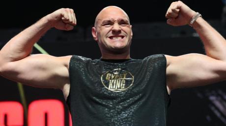 Box-Champion Tyson Fury steigt am 14. August gegen Anthony Joshua.