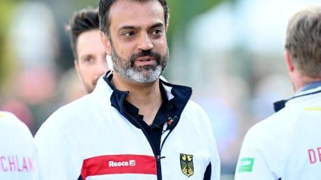 Musste mit Deutschlands Hockey-Herren eine Niederlage gegen Frankreich hinnehmen: Bundestrainer Kais al Saadi.