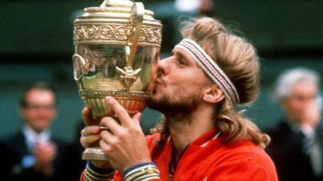 Der Schwede Björn Borg gewann das Turnier in Wimbledon fünf Mal in Folge.