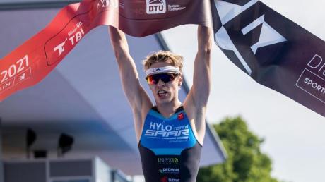 Tim Hellwig wurde deutscher Triathlon-Meister.