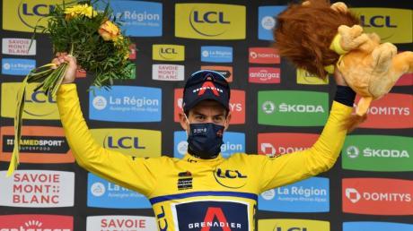 Richie Porte triumphiert beim Critérium du Dauphiné.