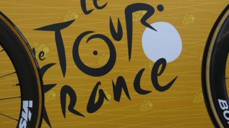 Der Grand Départ der 109. Frankreich-Rundfahrt 2022 soll in Kopenhagen stattfinde: Das Logo der Tour de France.
