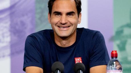 Steht auf der Meldeliste für die US Open: Roger Federer.