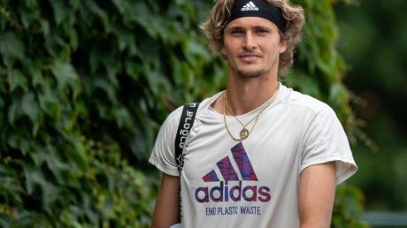 Alexander Zverev gehört beim olympischen Tennis-Turnier zu den Favoriten.