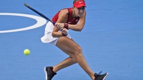 Steht in Tokio im Einzel- und Doppelfinale: Belinda Bencic.