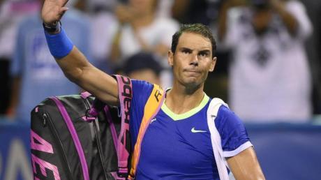 Auch Rafael Nadal wird seine Tennis-Saison beenden.