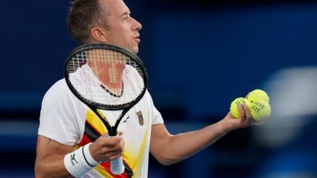 Tennisprofi Philipp Kohlschreiber schied bei den USOpen aus.