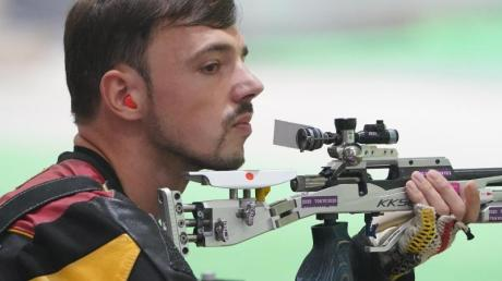 Scheiterte in Tokio in der Qualifikation: Sportschütze Tim Focken.